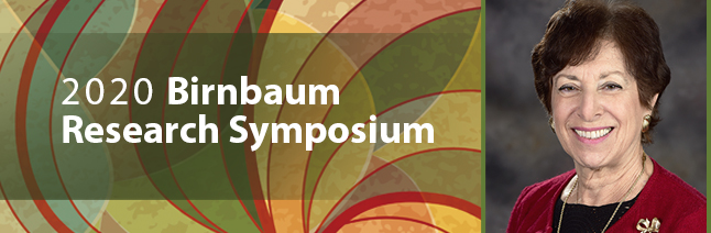 Birnbaum Research Symposium Banner