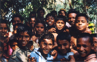 Children in Bangladesh.